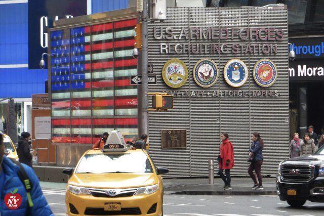 Qué ver en Times Square centro de reclutamiento