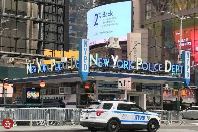 Qué ver en Times Square comisaría de policía