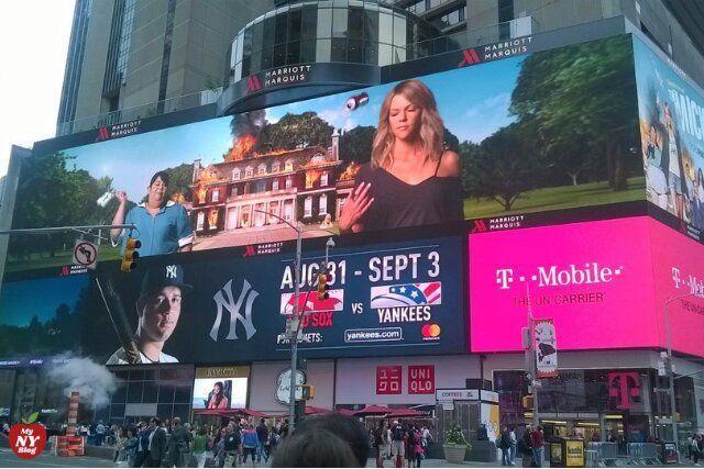Times Square pantallas