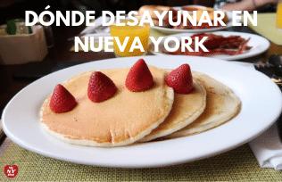 Dónde desayunar en Nueva York