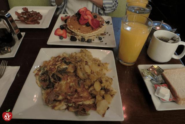 Desayunar en Times Square