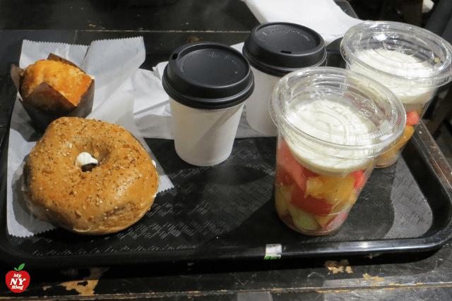 Hotel Pennsylvania desayuno