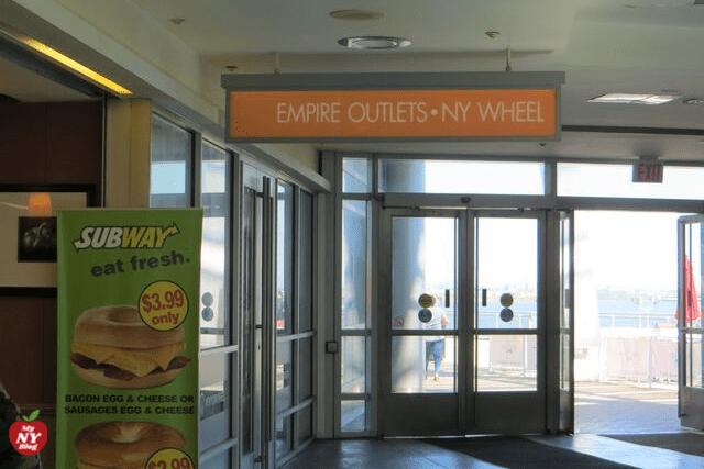 Indicaciones para llegar al Empire Outlet