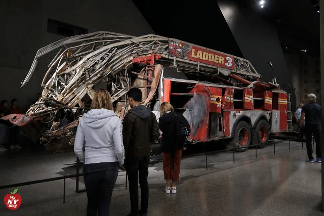 Museo del 11s camión de bomberos