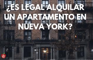 ¿ES LEGAL ALQUILAR UN APARTAMENTO EN NY_