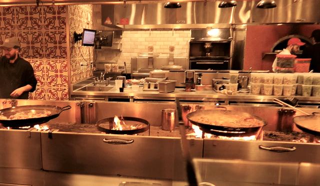 Paella mercado español Nueva York