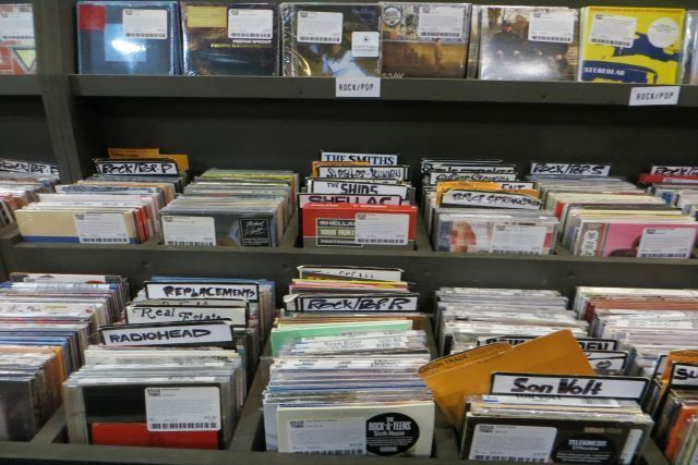 Comprar libros y discos en Nueva York