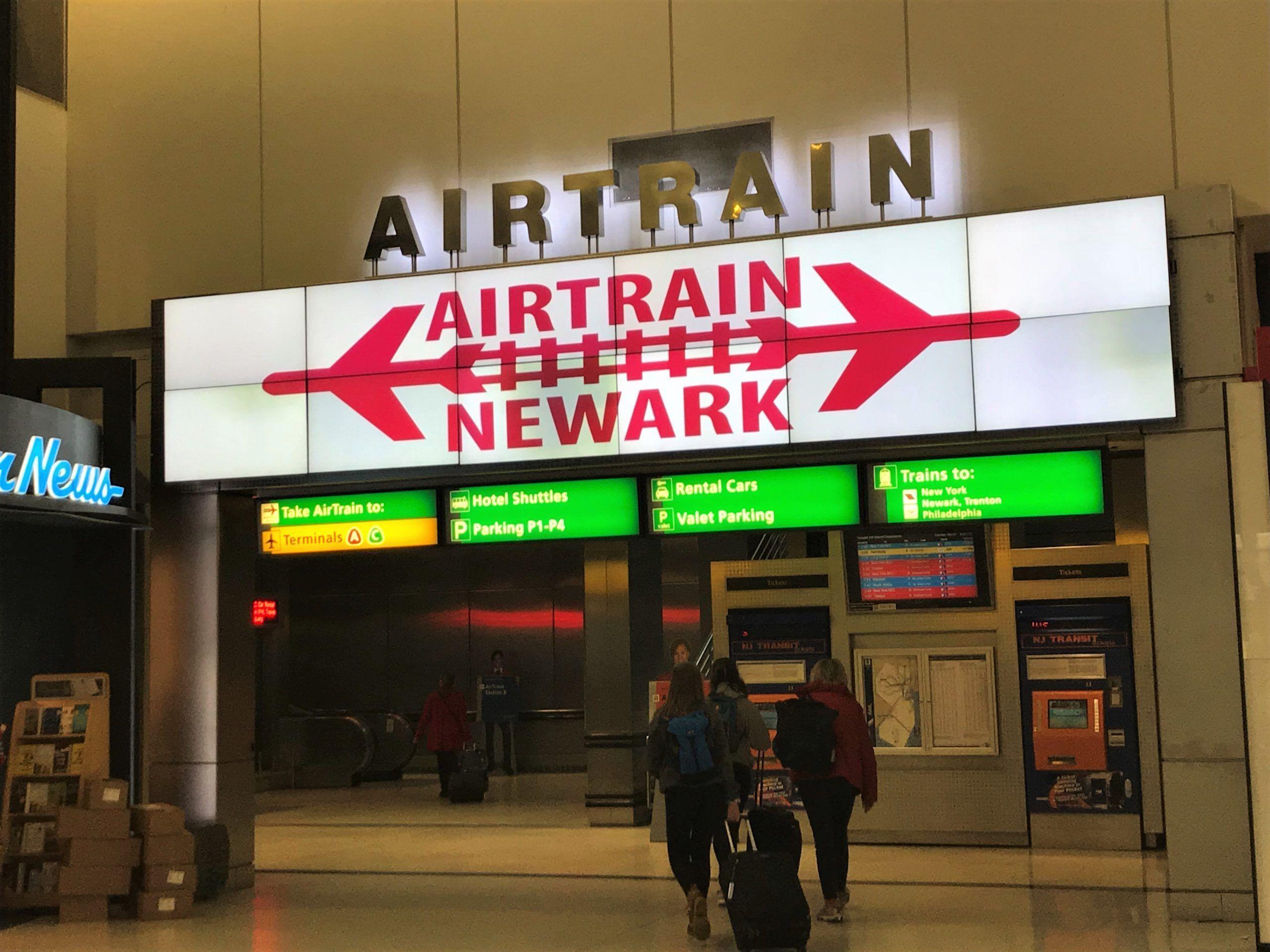 Aeropuerto de Newark Airtrain