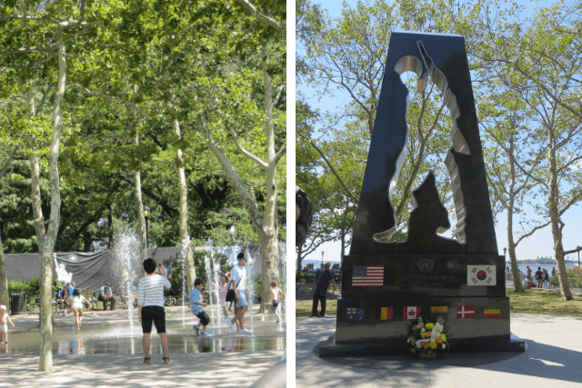 Estatua de la Libertad Battery Park