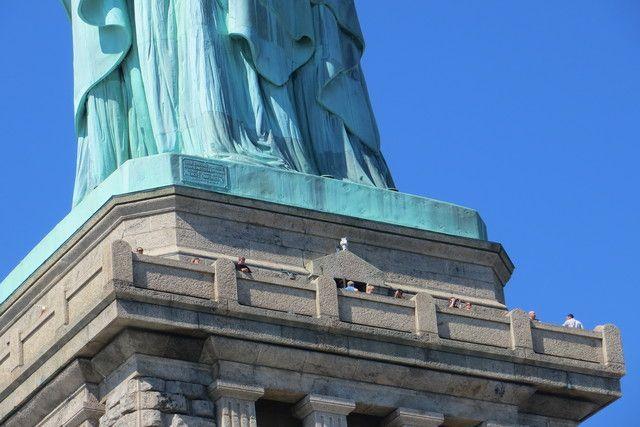 Pedestal de la Estatua de la Libertad