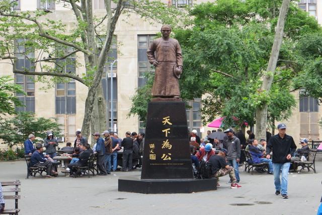 Parques de Chinatown Nueva York