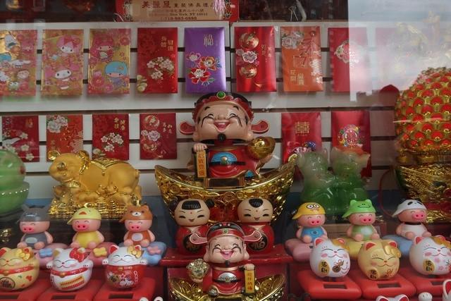 Compras en Chinatown Nueva York