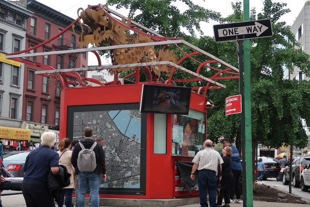 Oficina de información turística Chinatown Nueva York