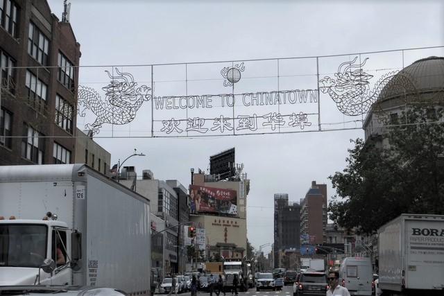 Qué ver en el Chinatown de Nueva York, neón Welcome to Chinatown